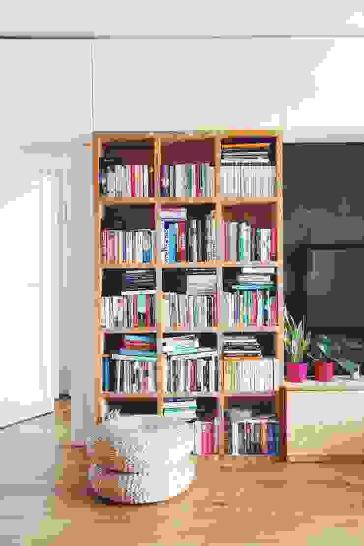 ofdesign Oskar Firek Plywood Warsaw salon Skandynawski salon od OFD architects Skandynawski