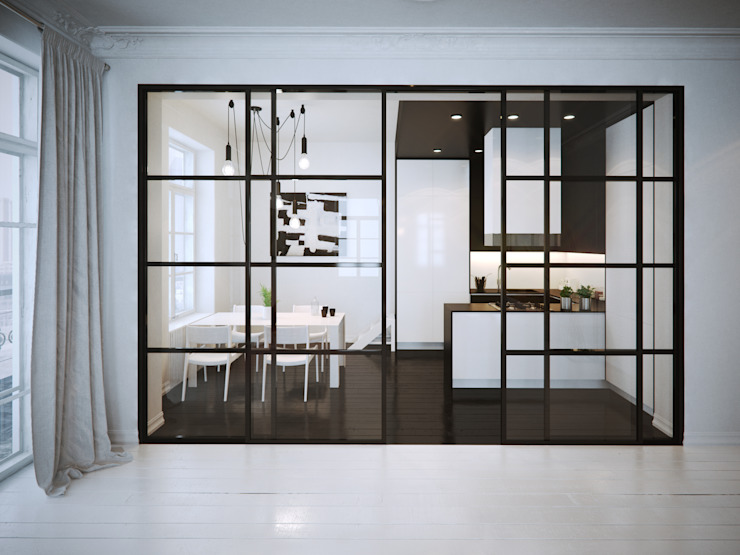 OFD architects Cucina minimalista