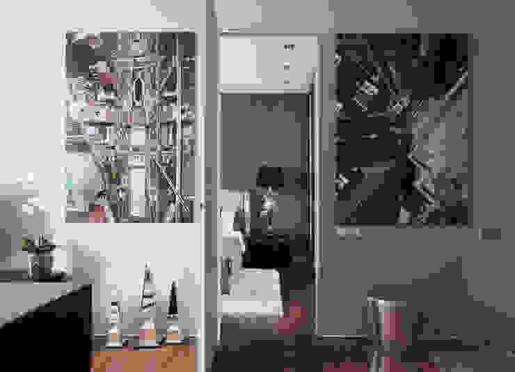 Апартаменты в жк <q>Авеню 77</q> / Москва Бюро TS Design Коридор, прихожая и лестница в эклектичном стиле