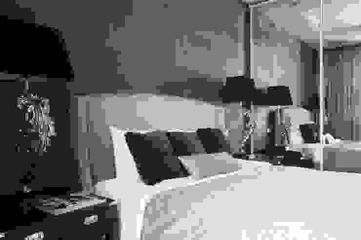 Апартаменты в жк <q>Авеню 77</q> / Москва Бюро TS Design Спальня в эклектичном стиле