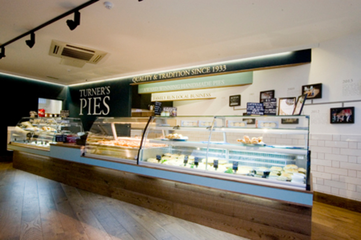 main pie counter Modern commercial spaces by Engaging Interiors Limited Modern