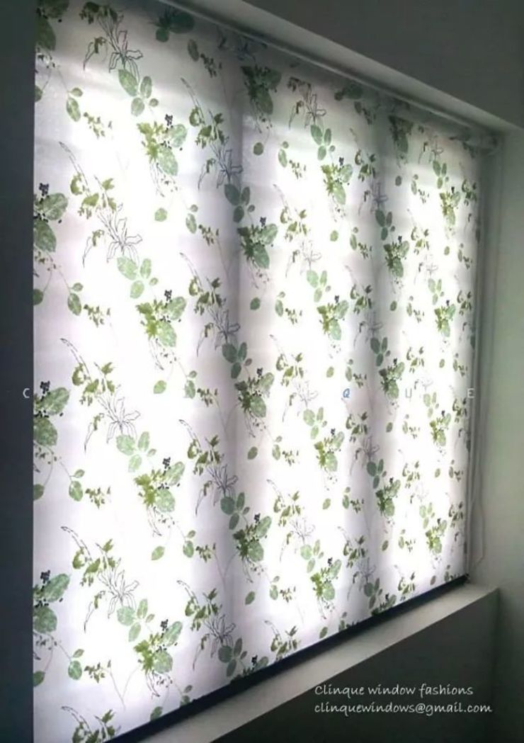 Printed Roller Blind: modern  by Clinque window blind systems,Modern