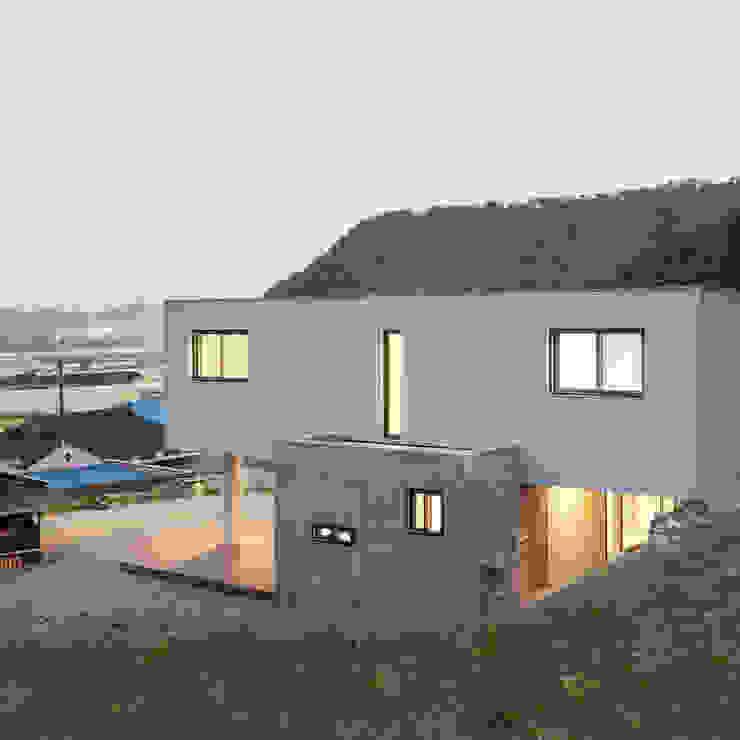 청양주택 모던스타일 주택 by Cheongju University Department of Architecture 모던