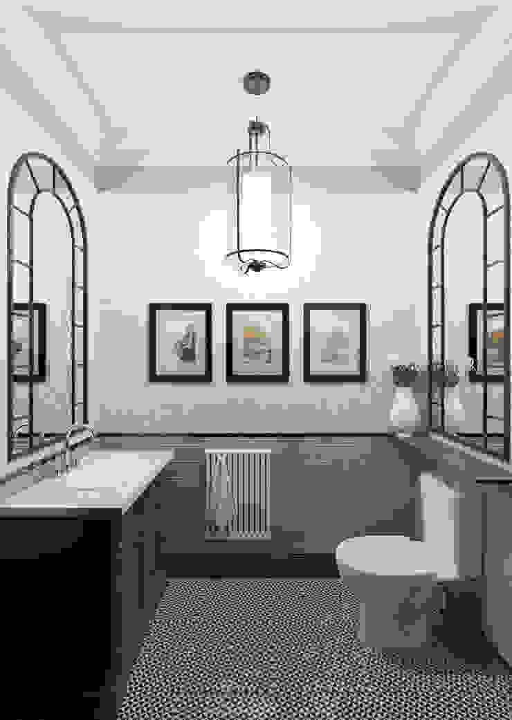 Санузел Ванная комната в стиле модерн от Студия Искандарова Модерн