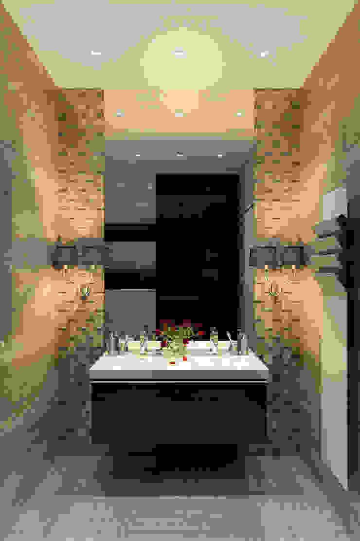 Grey elegance Ванная комната в стиле модерн от Домрачева Екатерина Модерн