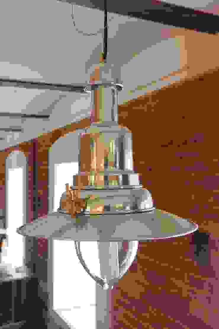 Потолочный подвисной фонарь от ODEL Лофт Алюминий / Цинк