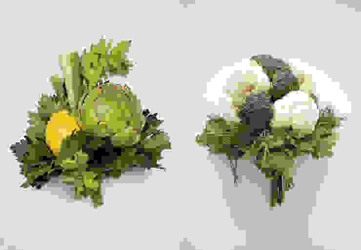 DIVERS – boeketten om op te eten: modern  door Studio Janina Loeve, Modern