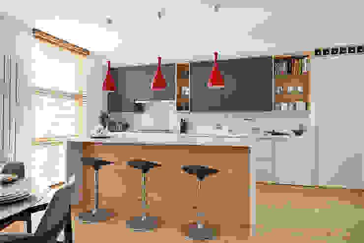 Kitchen Cocinas de estilo moderno de AR Architecture Moderno