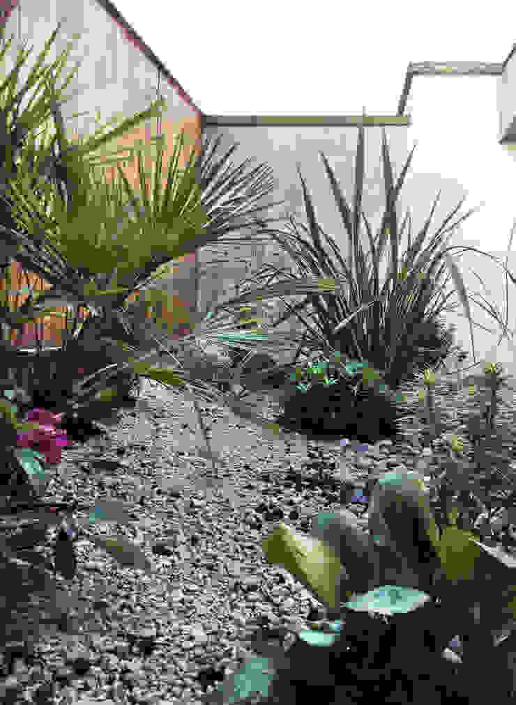 Patio Mediterranean style garden by AR Architecture Mediterranean