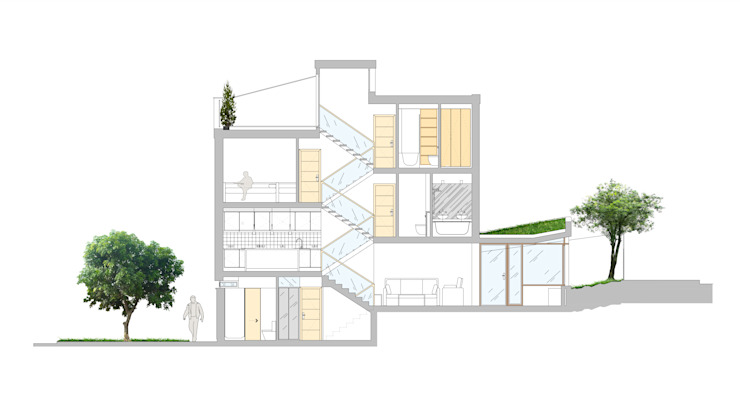 Section by AR Architecture