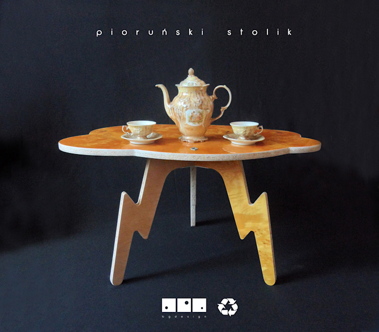 bgdesign Living roomSide tables & trays