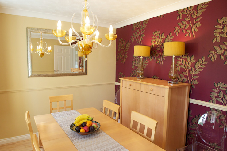 Dining Room Modern dining room by Chameleon Designs Interiors Modern