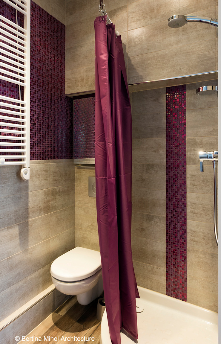 Modern bathroom by Bertina Minel architecture Modern