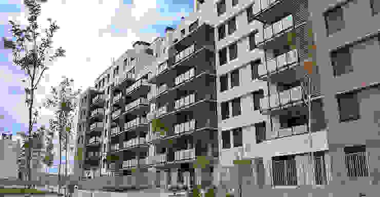 Vista principal Casas de estilo moderno de ALIA, Arquitectura, Energía y Medio Ambiente Moderno