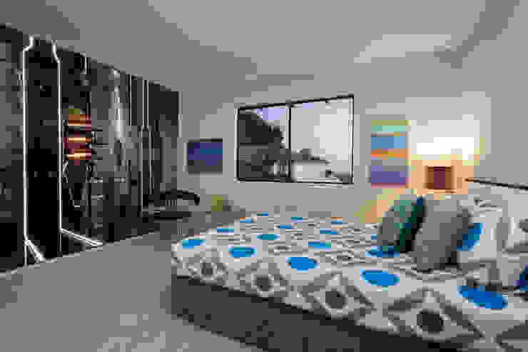 Energy Cells Modern style bedroom by Wallsauce.com Modern