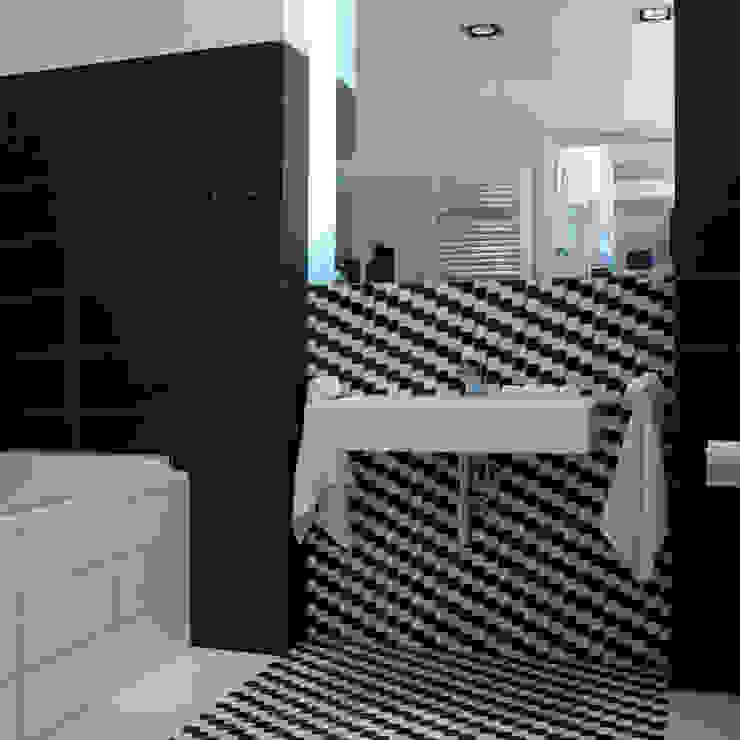 Minimalist style bathrooms by Designlab Minimalist