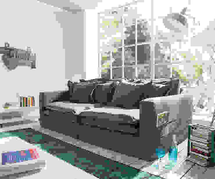 Salotto sofa: modern  door Asiades, Modern