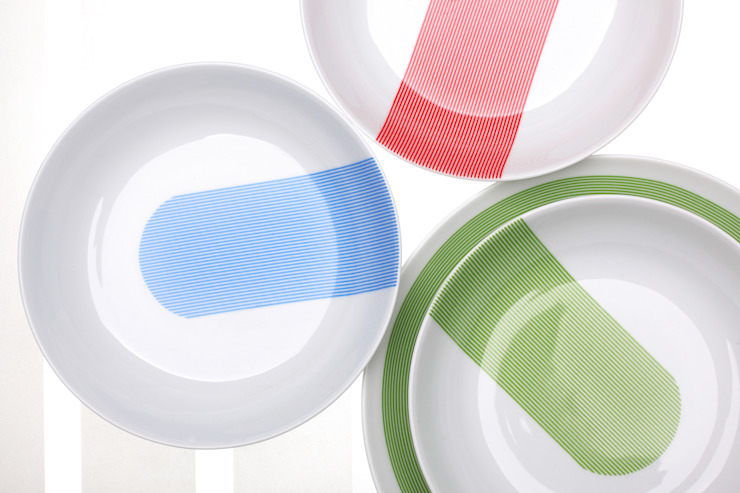 NEW ATELIER _ BLUE, RED, GREEN Ćmielów Design Studio by Modus Design od Marek Cecuła Modus Design Minimalistyczny