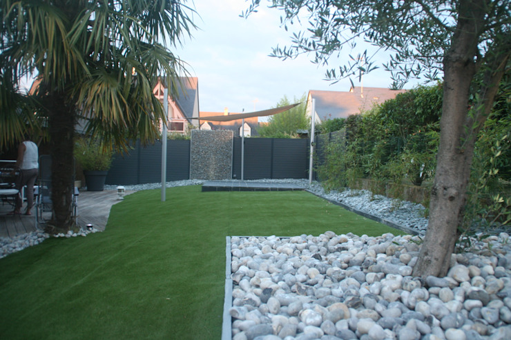 Vue d'ensemble Jardin moderne par EURL OLIVIER DUBOIS Moderne