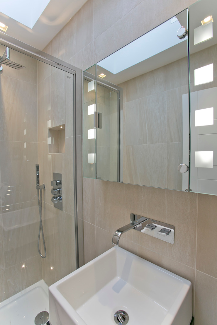 Bathroom Modern bathroom by Temza design and build Modern