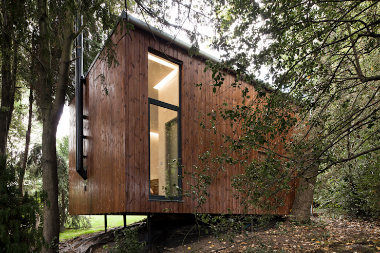 Summer House, Blackheath Fraser Brown MacKenna Architects Salones de estilo moderno