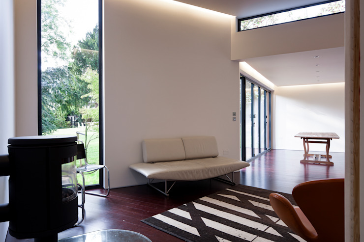 Summer House, Blackheath Fraser Brown MacKenna Architects Living room