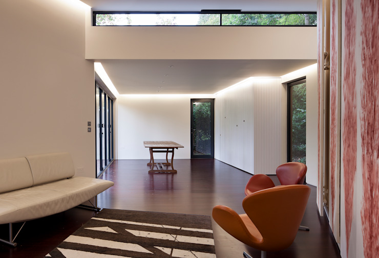 Summer House, Blackheath Fraser Brown MacKenna Architects Modern living room