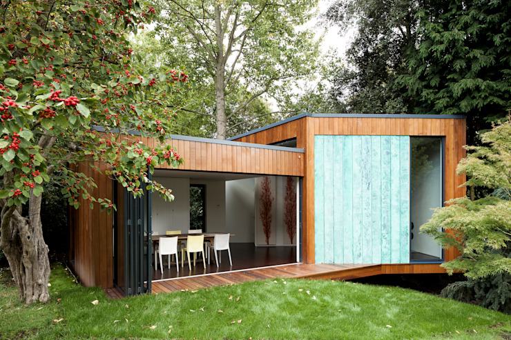 Summer House, Blackheath Livings modernos: Ideas, imágenes y decoración de Fraser Brown MacKenna Architects Moderno