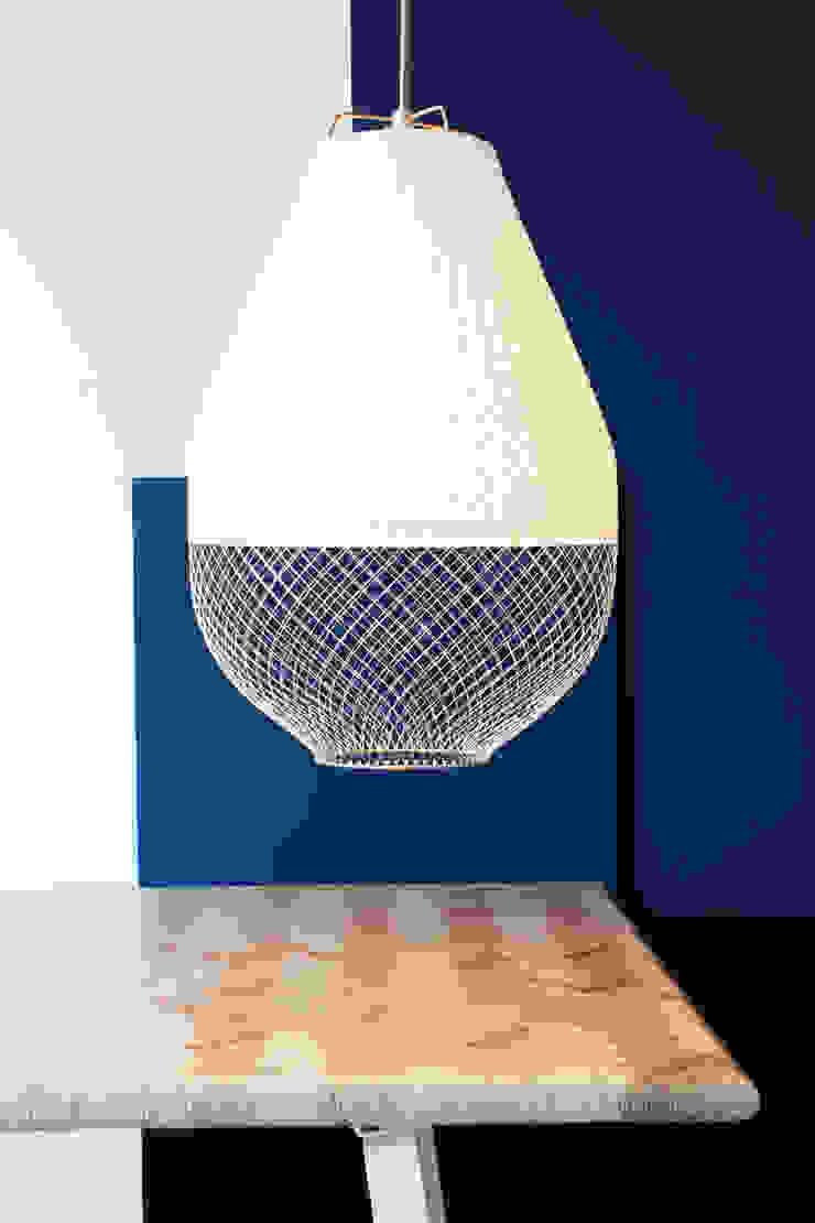 Open Meshmatics Lamp van Atelier Rick Tegelaar Industrieel