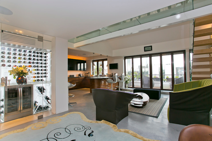 Living room Modern living room by Temza design and build Modern