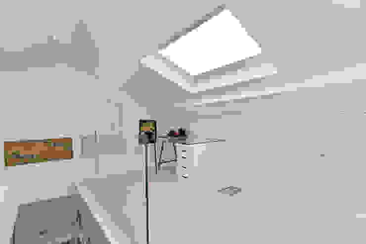 Mezzanine Modern Çalışma Odası Temza design and build Modern
