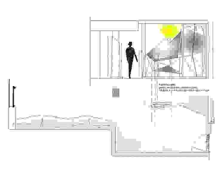 antonio giordano architetto Flur, Diele & TreppenhausKleiderständer und Garderoben