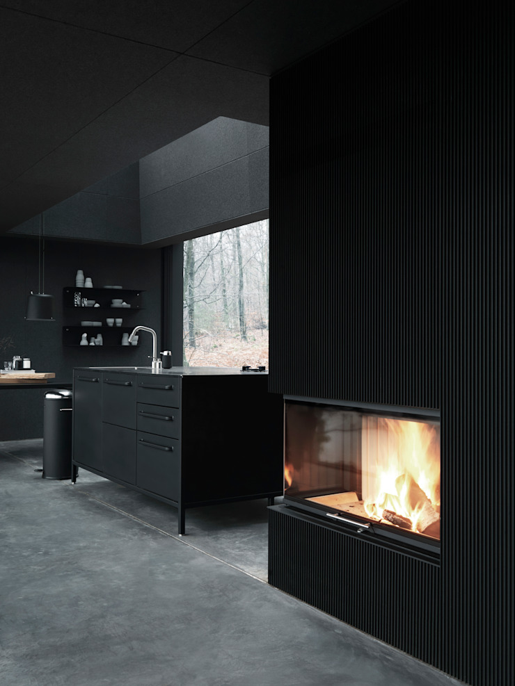 Vipp kitchen: industrial  by Vipp, Industrial