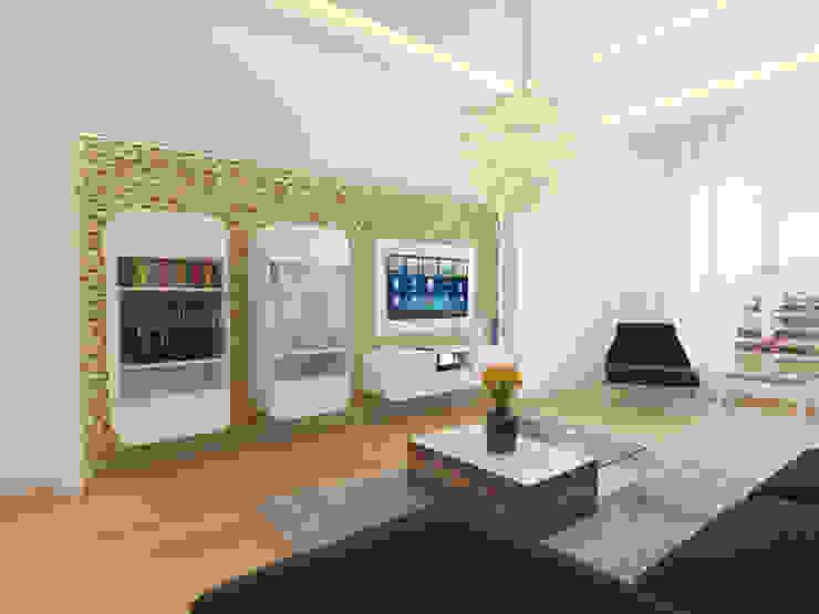 modern  by İNDEKSA Mimarlık İç Mimarlık İnşaat Taahüt Ltd.Şti., Modern