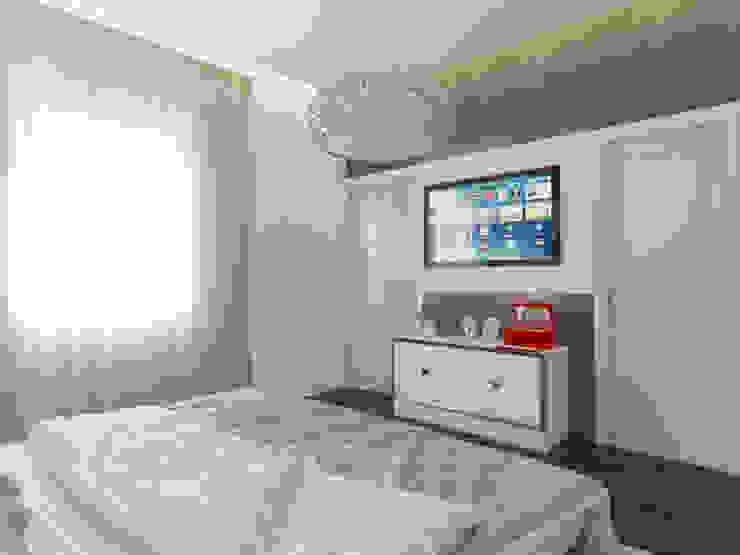 Quartos modernos por İNDEKSA Mimarlık İç Mimarlık İnşaat Taahüt Ltd.Şti. Moderno