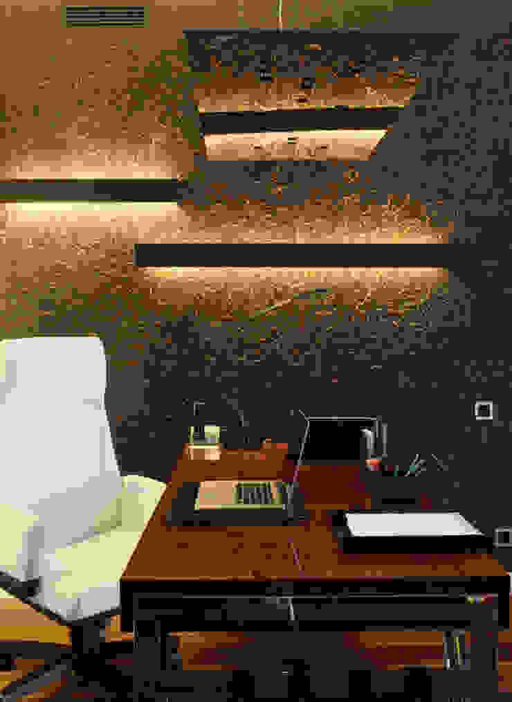 Кабинет Рабочий кабинет в эклектичном стиле от Henry Bloom Эклектичный