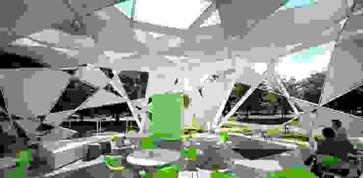 antonio giordano architetto Modern conservatory