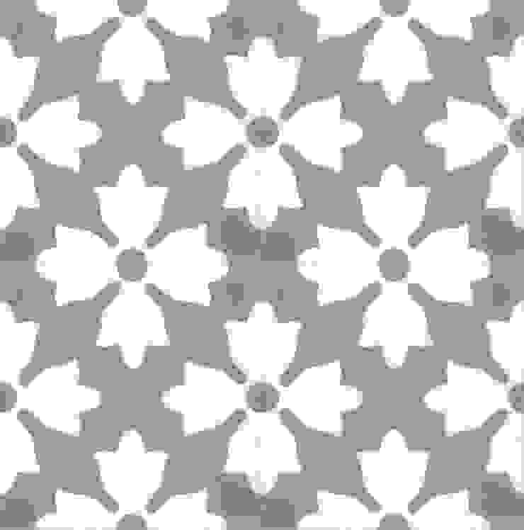 AITOR - cementowe płytki podłogowe od Kolory Maroka Śródziemnomorski