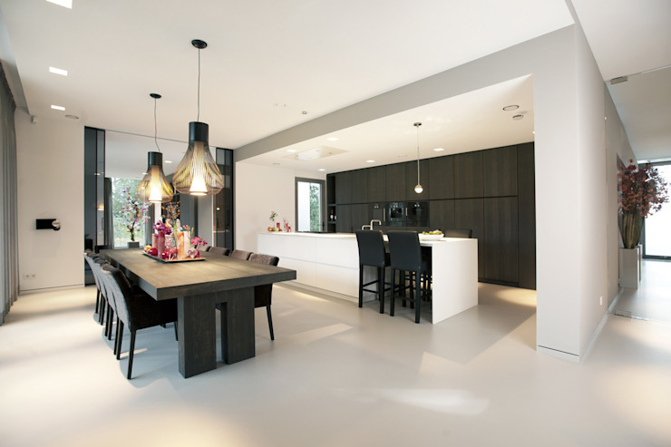Villa Gelderland Moderne keukens van studio KAP+BERK Modern
