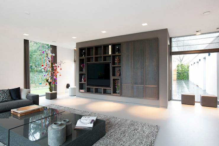 Villa Gelderland: modern  door studio KAP+BERK, Modern