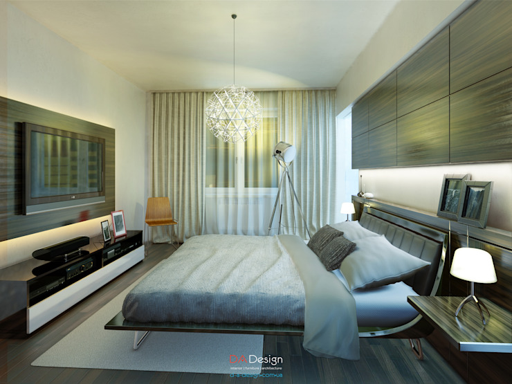 Minimalist bedroom by DA-Design Minimalist