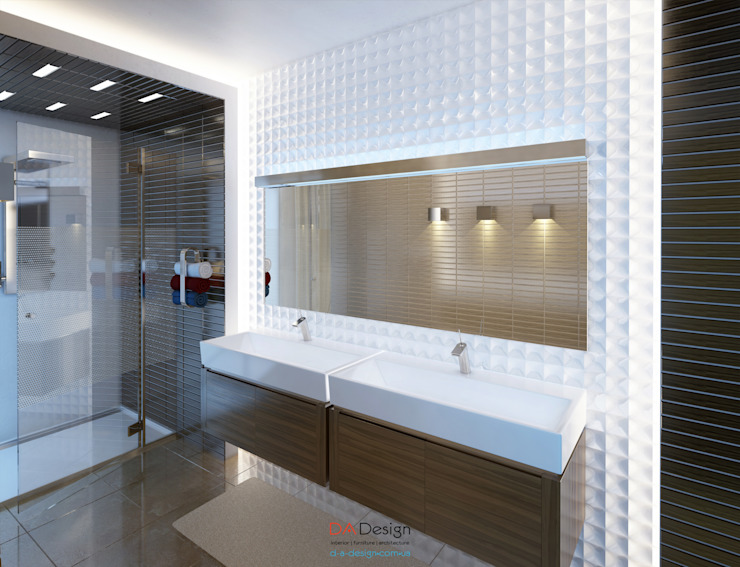 Minimalist style bathroom by DA-Design Minimalist