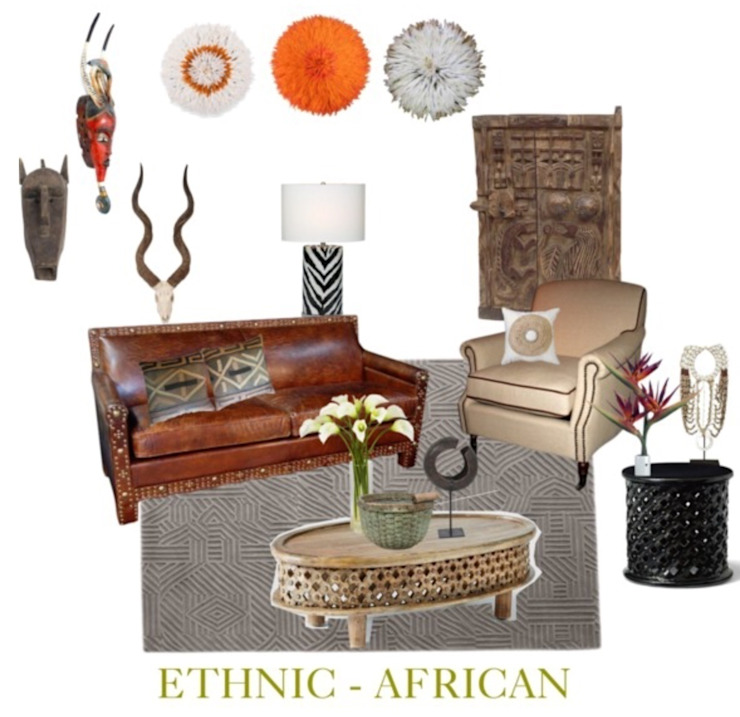 Africa: eclectic  by Studio D. Interiors , Eclectic