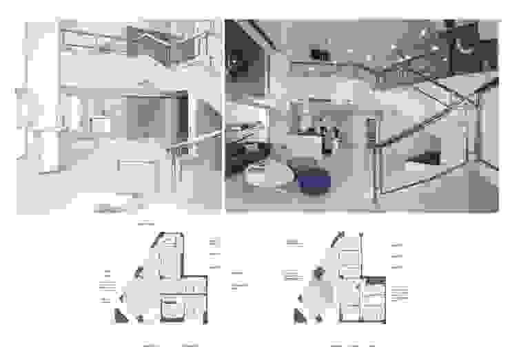 Recepción y zona de espera de elementos interiorismo y diseño