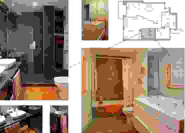 baños Baños de estilo moderno de elementos interiorismo y diseño Moderno
