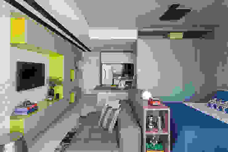 Salas de estilo moderno de BEP Arquitetos Associados Moderno