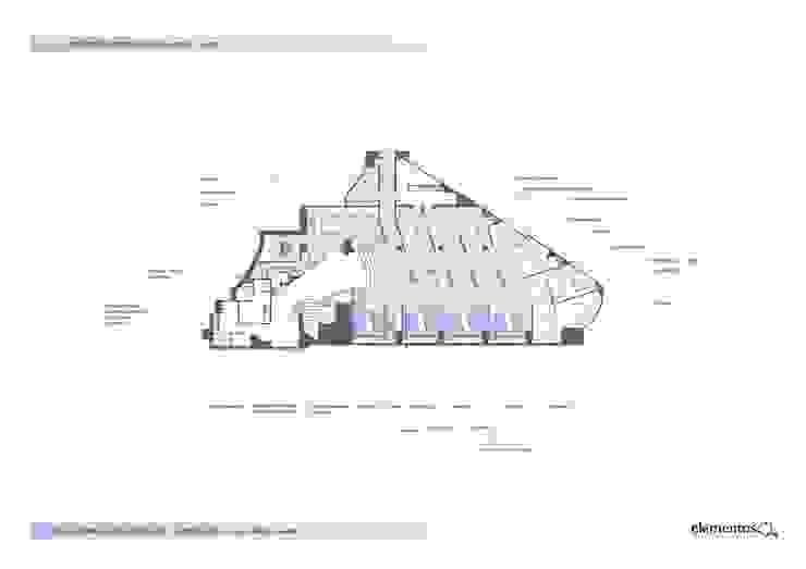 planta de estado refomado de elementos interiorismo y diseño