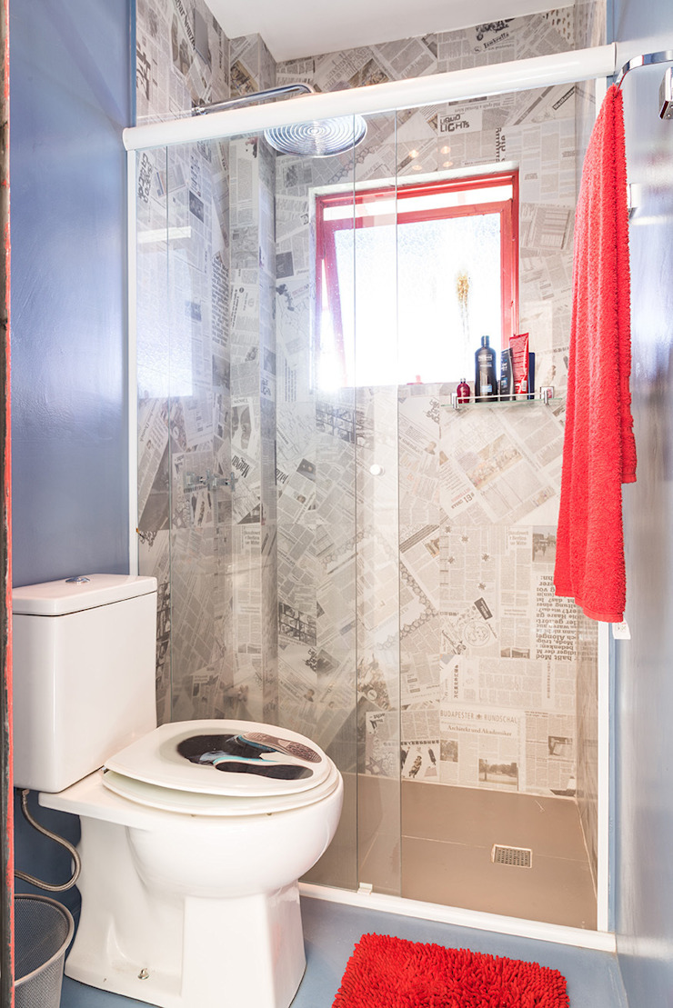 Blacher Arquitetura Eclectic style bathroom