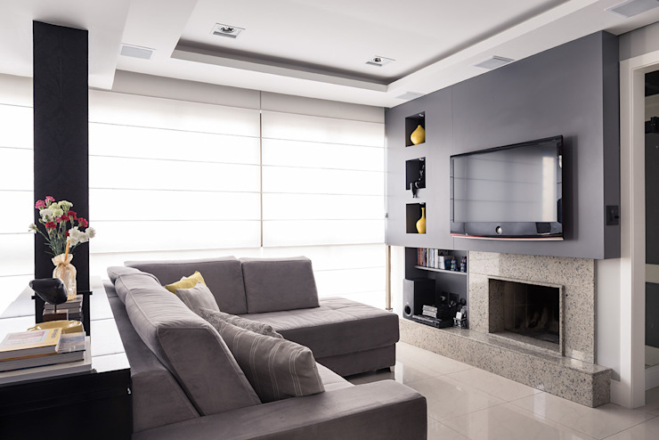 14 Ways To Work Around Your Tv For Large And Small Living Rooms Homify