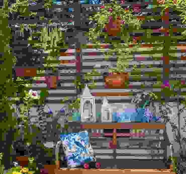 Jardin original par Blacher Arquitetura Éclectique